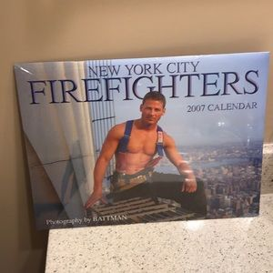 ⚡️FINAL PRICE⚡️ NYC 2007 Firefighters Calendar
